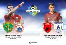 Liga 1: Pekan yang Menentukan, Persija vs Persebaya, PSM Kontra Persipura