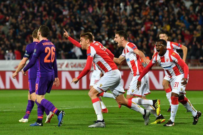 Liverpool Kalah Atas Red Star