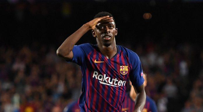 Pique Dukung Valverde Coret Ousmane Dembele dari Skuat Barca