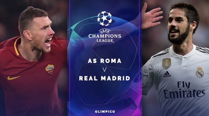 AS Roma-vs-Real Madrid UCL