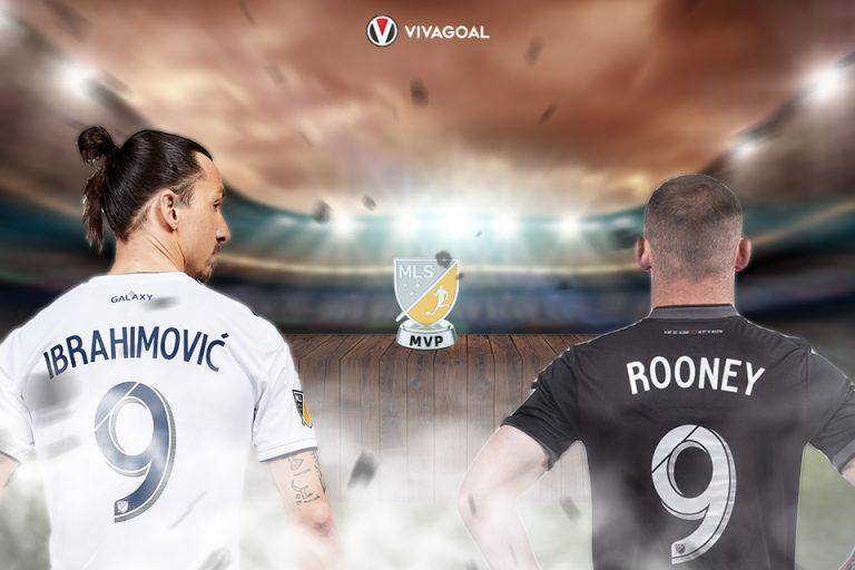 Rooney dan Ibra Bersaing Raih MVP Award-MLS