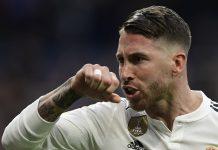 Liga Champions: Sergio Ramos Patahkan Hidung Milan Havel