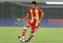 Selangor FA Pertahankan Evan DD