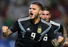 Mauro Icardi Akhirnya Cetak Gol Untuk Argentina