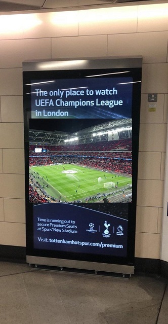 'The only place to watch Champions League in London'