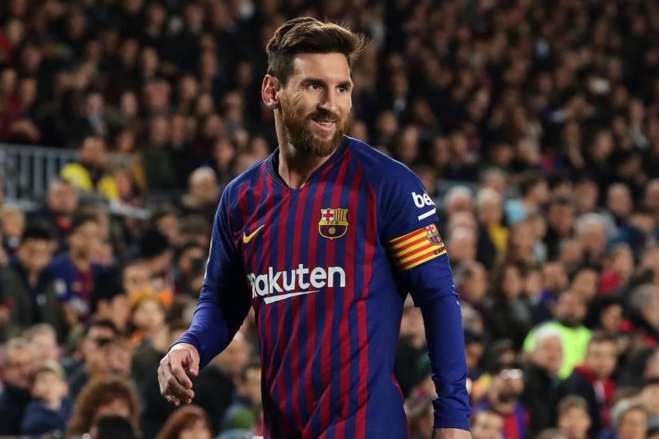 Jadi Top Skor Messi Mandul di Kepala