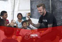 5 Fakta Pemain Sepak Bola Yang Punya Organisasi Amal