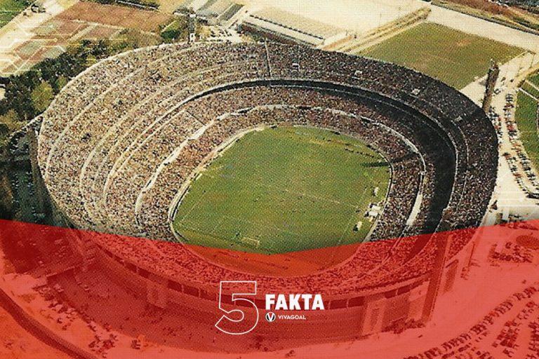 5 Fakta Pertandingan Bola Teramai Sepanjang Masa