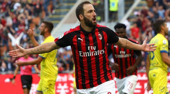 Milan Tak Permanenkan Higuain