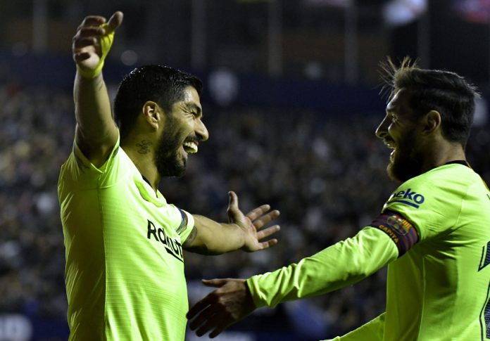 Duet Messi-Suarez Punya Gol Lebih Banyak dari 16 Tim La Liga