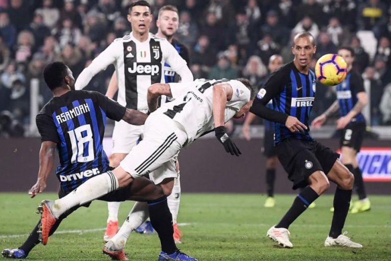 Gol Tunggal Mandzukic Menangkan Juventus Atas Inter Milan
