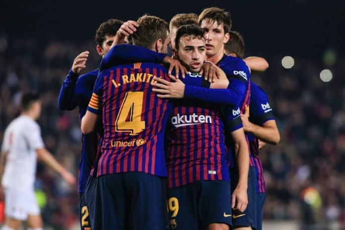Hasil 34 Besar Copa del Rey- Barca Pesta 4 Gol atas Leonesa