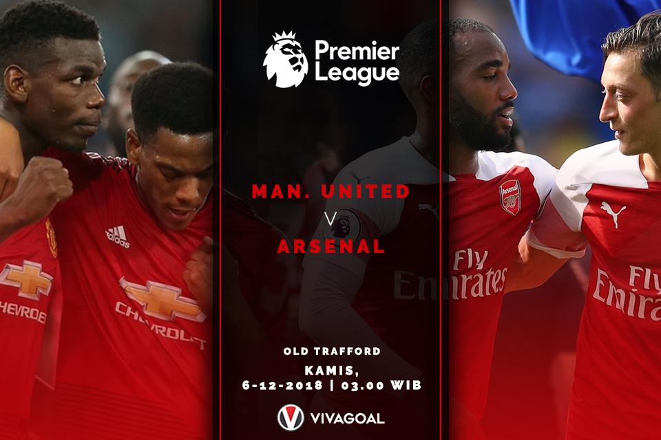 Liga Inggris - Manchester United - Arsenal