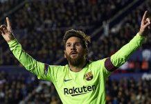 Messi, Pemain Pertama Tembus 50 Gol Tahun 2018