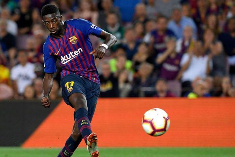 Messi Percaya Dembele Bisa Jadi Pemain Terbaik Dunia