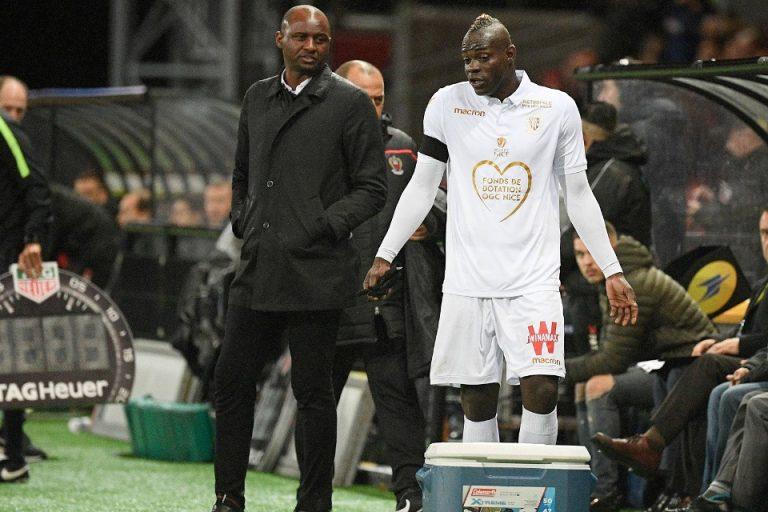 Vieira Bantah Ada Masalah Dengan Balotelli di Nice