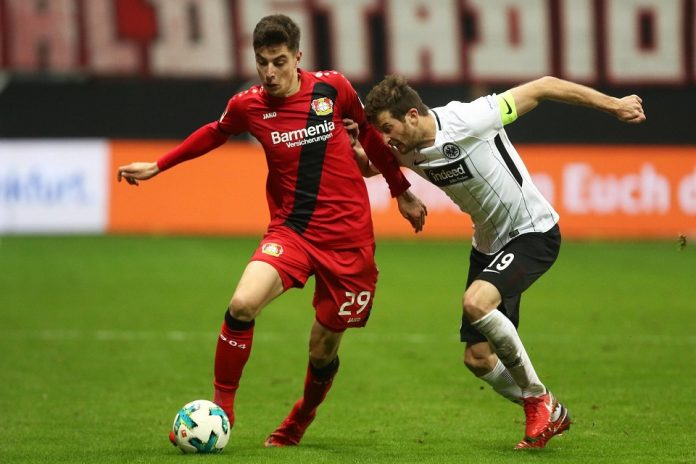 Bundesliga - Eintrahct Frankfurt - Bayer Leverkusen