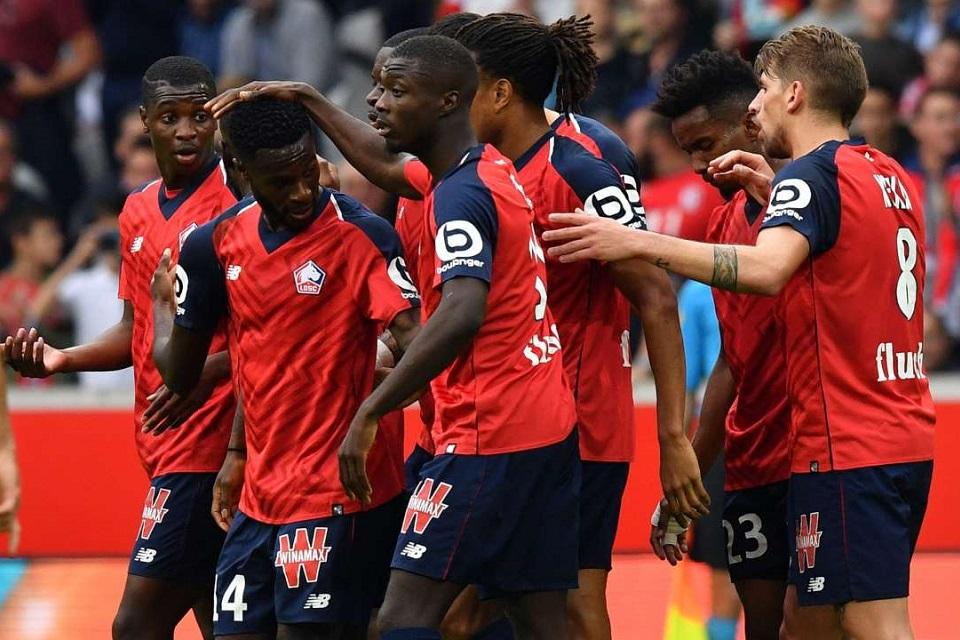 Ligue 1 Prancis - Lille - Reims