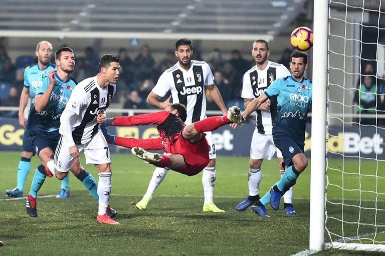 Ronaldo Hindarkan Juventus Dari Kekalahan Atas Atalanta