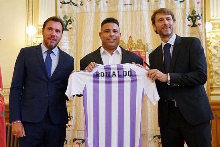 Ronaldo Nikmati Peran Baru Jadi Pemilik Real Valladolid