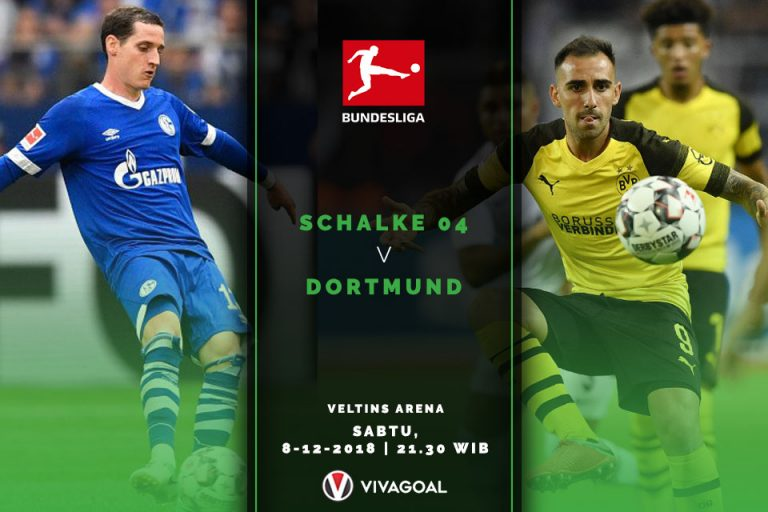 Preview Schalke 04 vs Dortmund: Duel Sengit Raksaksa Bundesliga