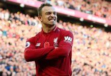 Shaqiri Jadi Super Sub Saat Liverpool Melawan Man United