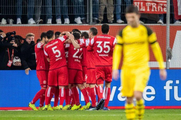 Fortuna Dusseldorf Kalahkan Dortmund