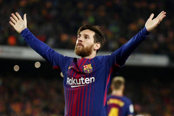 Messi Raih Sepatu Emas Eropa