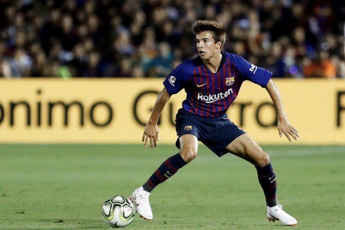 Riqui Puig Lakoni Laga Debut Di Skuat Senior Barcelona