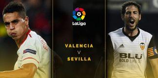 Valencia melawan Sevilla di La Liga