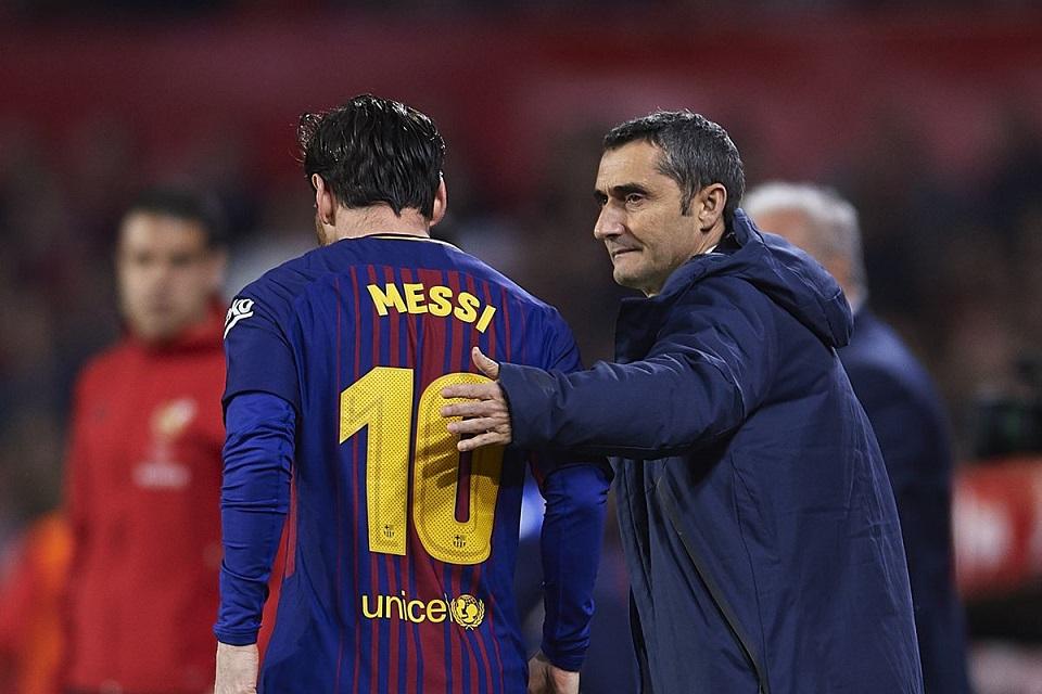 Valverde Masih Tidak Terima Messi Tak Masuk 3 Besar Ballon d`Or