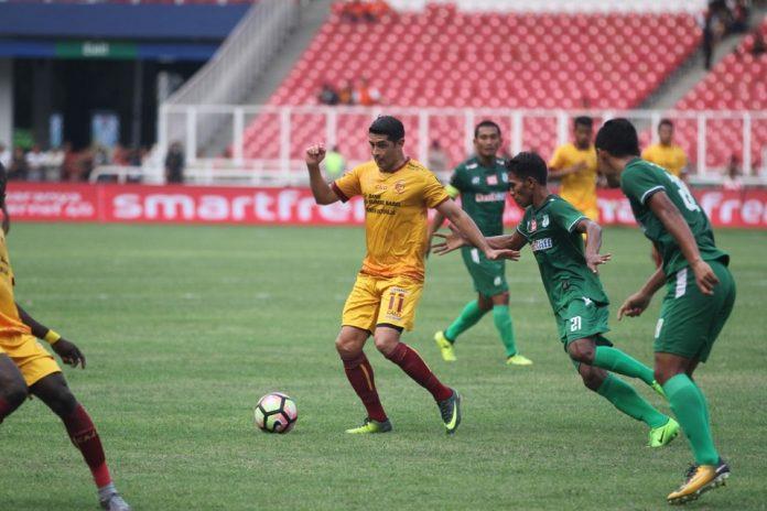 Esteban Gabriel Vizcarra Beri Sinyal Tinggalkan Sriwijaya dan Gabung ke Persija