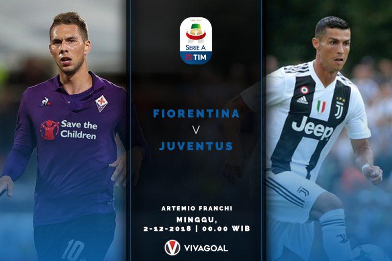 Fiorentina vs Juventus : Laga Sulit Untuk Bianconeri