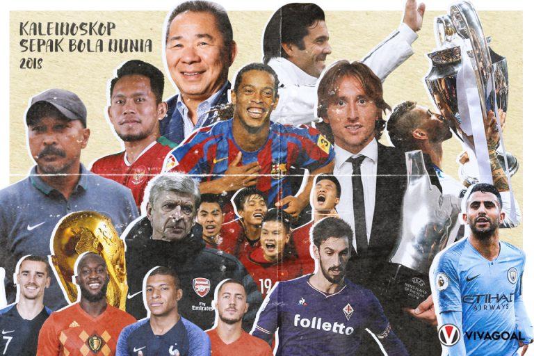 Kaleidoskop 2018: Rentetan Sejarah Baru di Dunia Sepak Bola