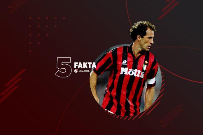 5 Fakta Legenda AC Milan Franco Baresi