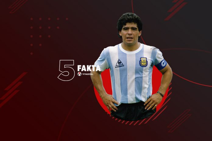 5 Fakta Sang Legenda Diego Maradona