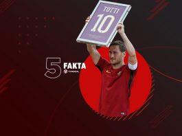 5 Fakta Sang Legenda Francesco Totti