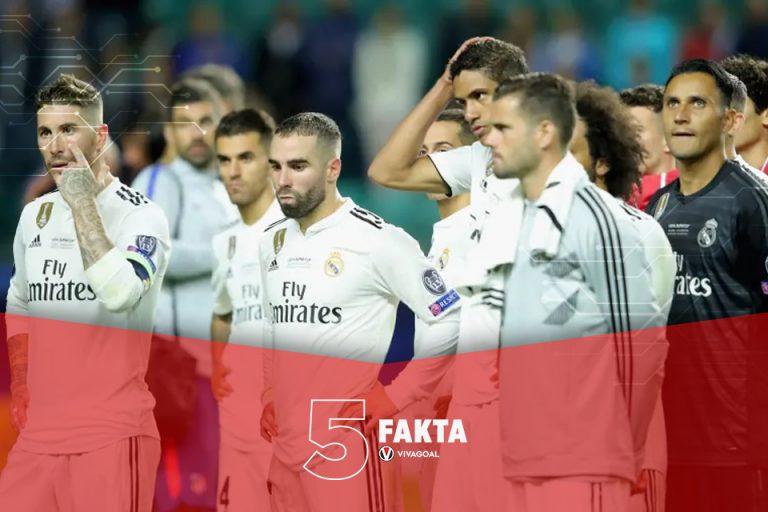 5 Fakta Sejarah Real Madrid Tumbang Dengan Skor Telak