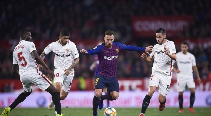Sevilla Akan Melakoni Leg 2 Copa del Rey di Camp Nou