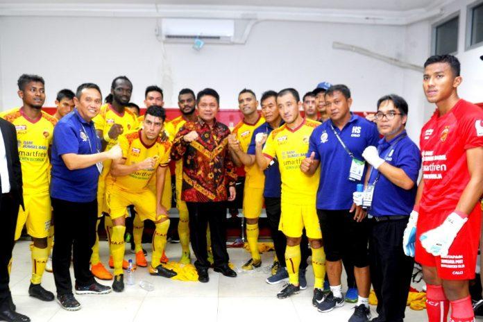 Ambil Alih Saham Mayoritas, Herman Deru Kendalikan Sriwijaya FC