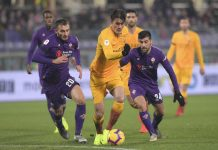 Coppa Italia; Fiorentina Bantai AS Roma 7-1