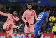 Messi dan Suarez Bawa Barcelona Unggul Atas Getafe