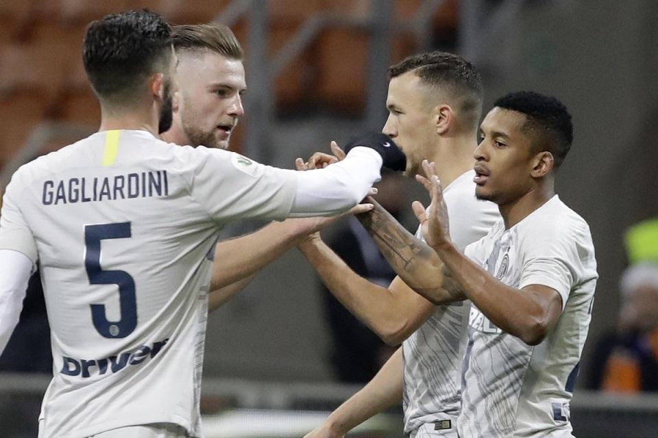 Inter Lolos ke Perempatfinal Coppa Italia Setelah Bekuk Benevento 6-2