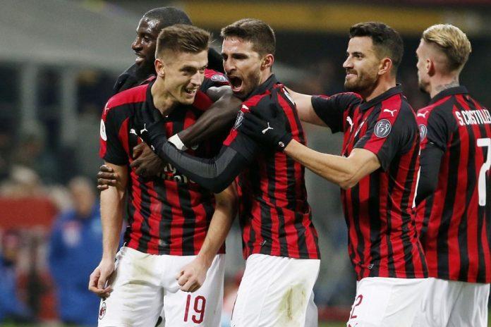 Piatek Bawa Milan ke Semifinal Coppa Italia
