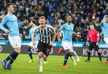 City Kalah 1-2 Dari Newcastle
