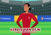 Virgil van DIjk, Tembok Kokoh Liverpool