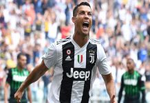Cristiano Ronaldo Cetak Rekor Penembak Terjitu Liga Italia