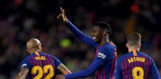 Dembele Lampaui Prestasi Lionel Messi