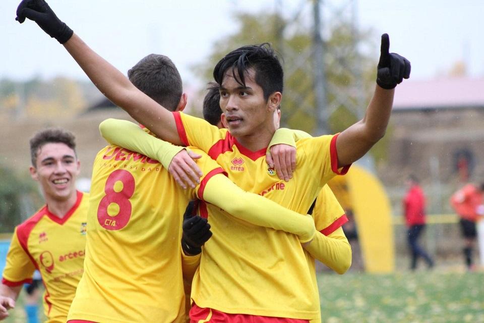 Gol Helmy Jadi Penentu Kemenangan CDI Amistad di Liga Spanyol U-19