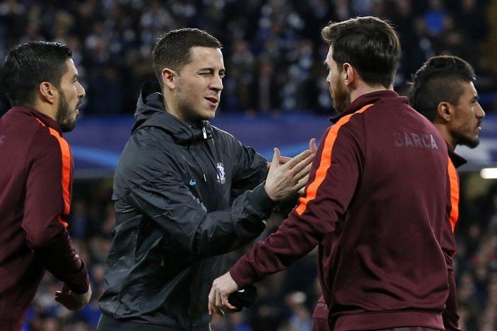 Hazard- Hanya Messi Pemain Terbaik Dunia